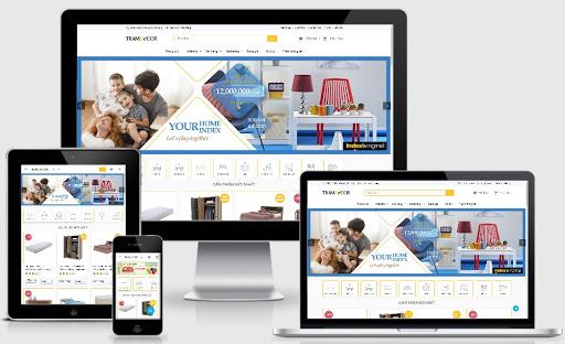 Template blogspot bán hàng nội thất chuẩn SEO 2020 - Ảnh 1