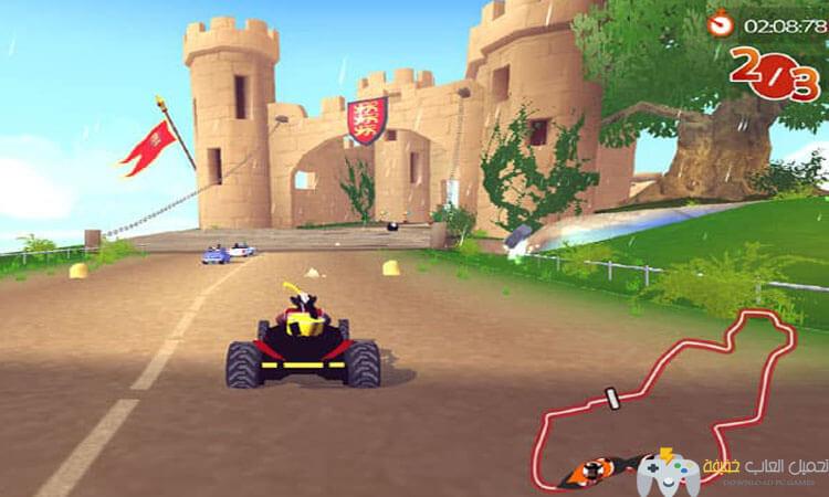 تحميل لعبة سباق سيارات الشاطئ للكمبيوتر برابط مباشر
