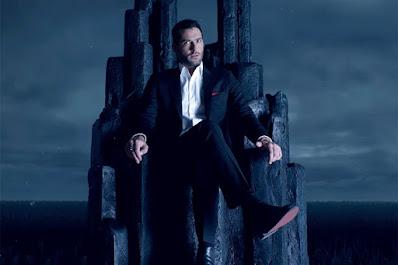 lucifer itting on throne