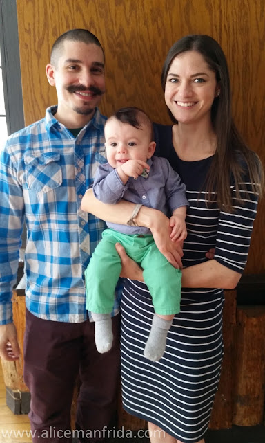 ootd, mom, baby, outfit, fashion, baby boy, Easter, looks, spring outfits, dress, nursing dress, Seraphine, Target, family