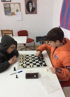 παιδικός αγώνας σκάκι στη Θεσσαλονίκη