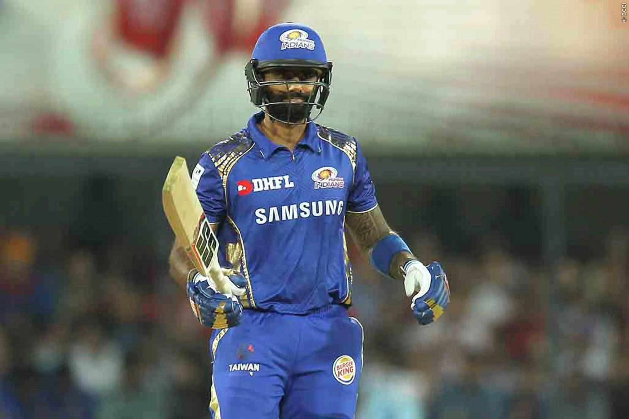 SuryaKumar Yadav is one of the top batsmen for MI