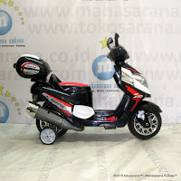 Junior YLQ2288 Vario Rechargeable-battery Operated Toy Motorcycle