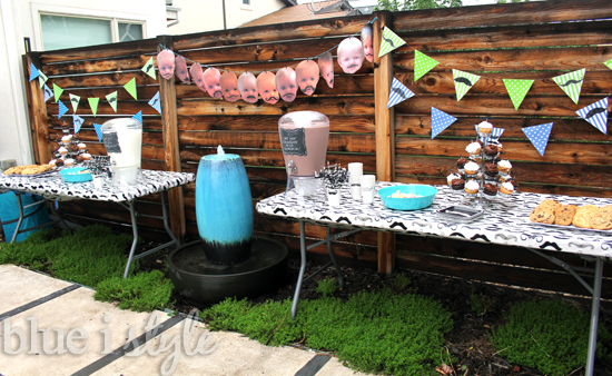 Backyard 1St Birthday Party Ideas Entertaining With Style First Mustache Bash