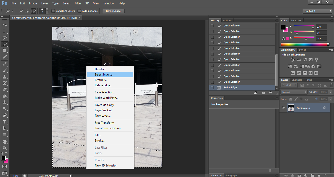 How to blur images on photoshop