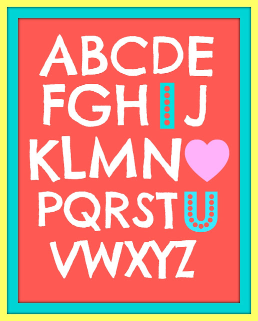 ABC-I Love You by whatdoesthecoxsay.com #printable #valentine
