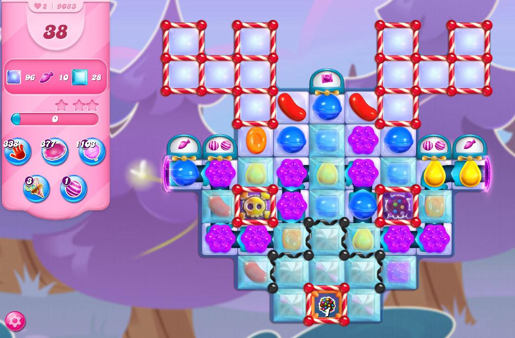 Candy Crush Saga level 9083