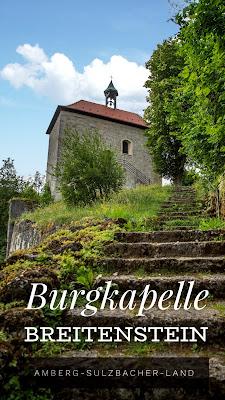 Königstein Rundwanderweg Nr. 18 | Steinberg-Rundweg | Amberg-Sulzbacher Land | #BayernjenseitsderAlpen | Burgkapelle Breitenstein und Felsensteig