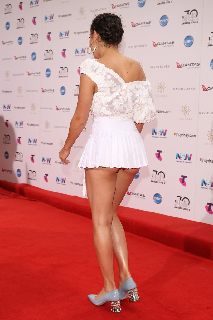 Charli XCX bares bottom at the 30th Annual ARIA Awards in Sydney