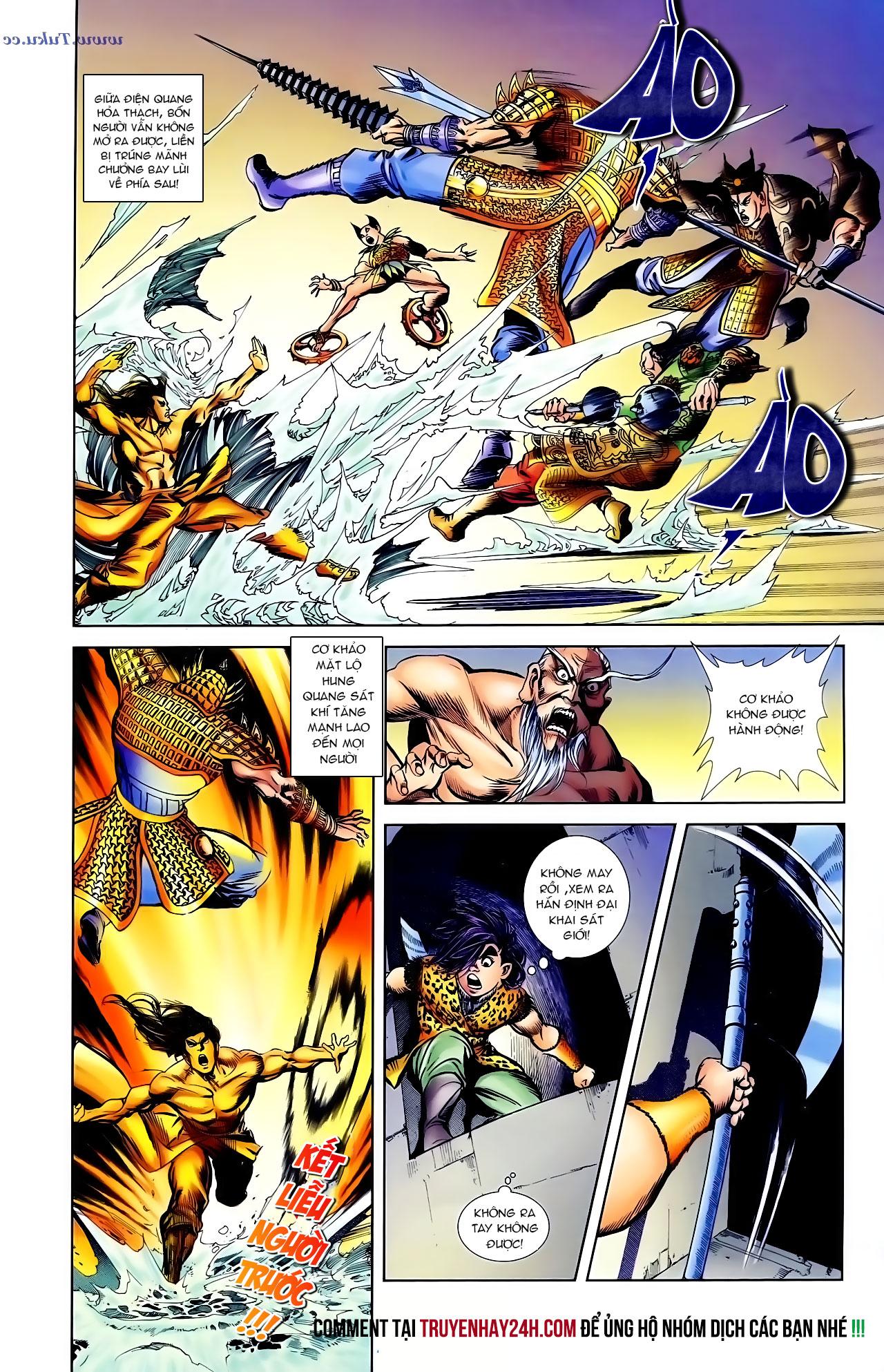Cơ Phát Khai Chu Bản chapter 103 trang 25