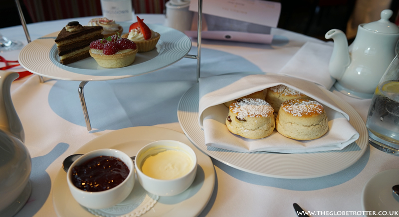 Selection of pastries - Rosa's Afternoon Tea at The Cavendish London