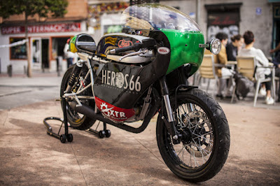 Mash 250 Cafe Racer by XTR