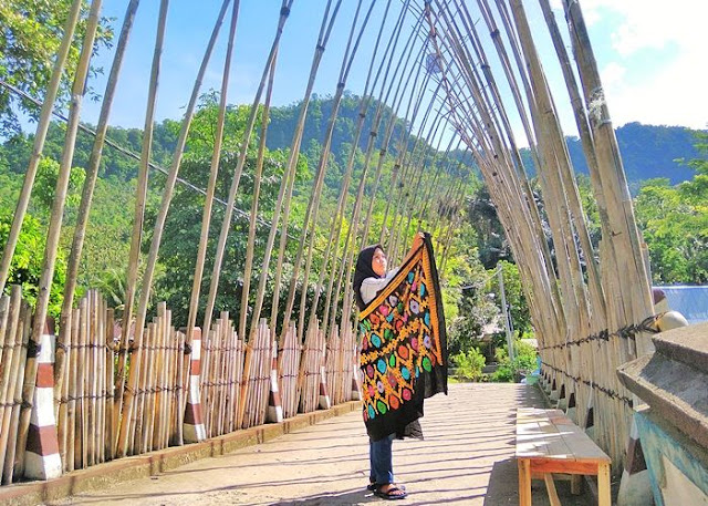 Kampung Wisata Kerujuk Lombok