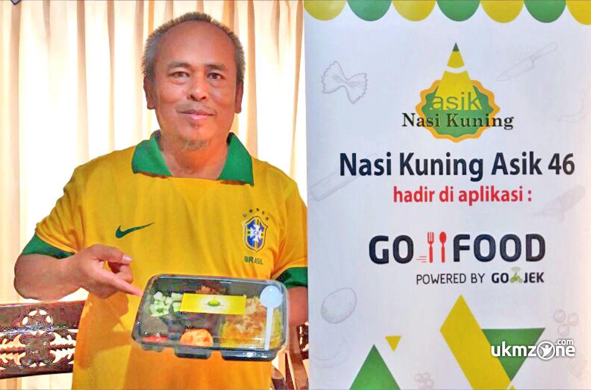 Indira Mulyawan pengusaha UKM IKM Nasi Kuning Asik 46 Depok | UKM Zone