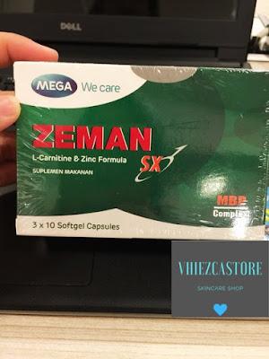 Zeman Sx Suplemen Kesuburan Pria