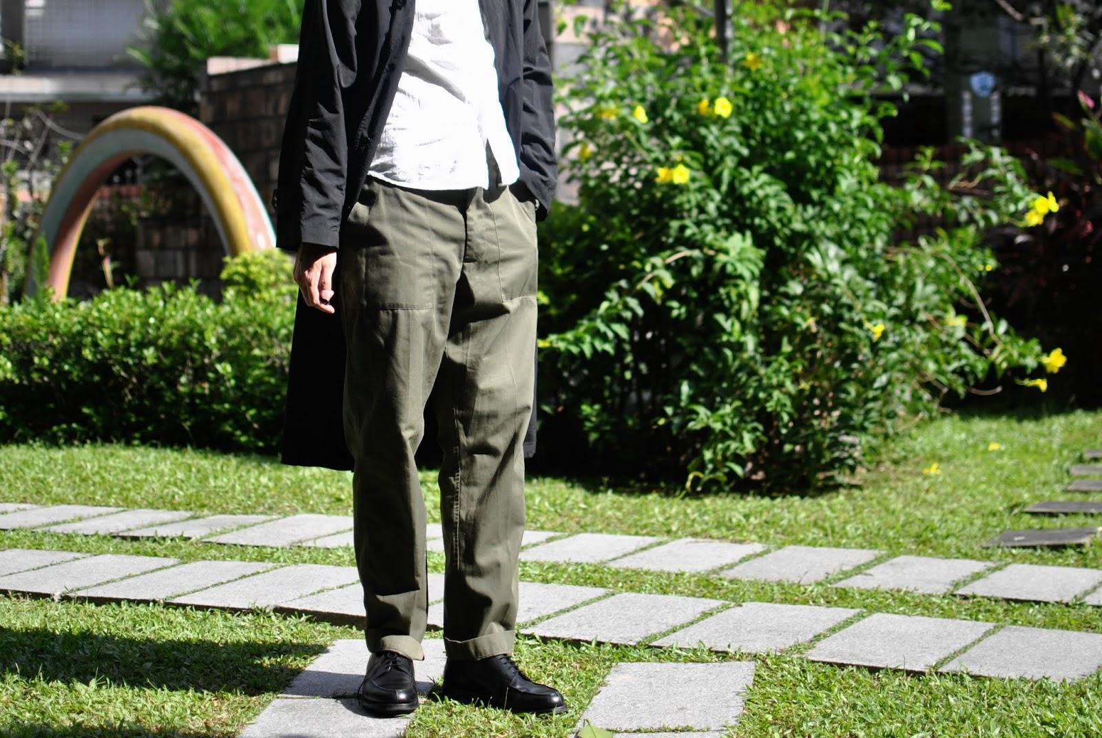 軍褲就該買原味古著軍用品-4套90's英軍褲穿搭