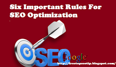 Six Important Rules For SEO Optimization