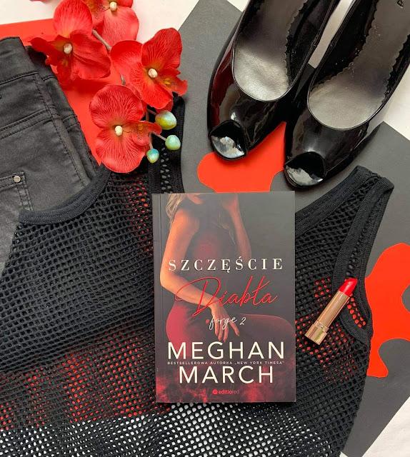 """""""Szczęście diabła"""" Meghan March"""