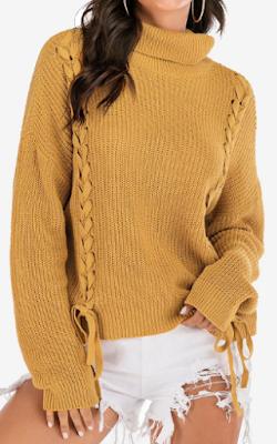 sweater, yellow, mustar yellow, winter, zima, pulover, majica, odjeća, fashion, moda, što odjenuti, dress up, bow