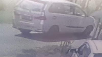 Mobil Pelaku Tabrak Lari di Bone Terekam CCTV