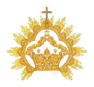 Salvador de los Reyes diseña una corona de camarín para la Virgen Mediadora de Málaga