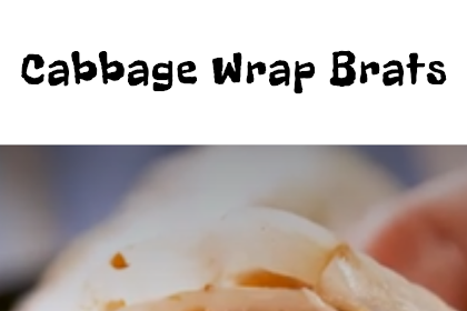 Cabbage Wrap Brats