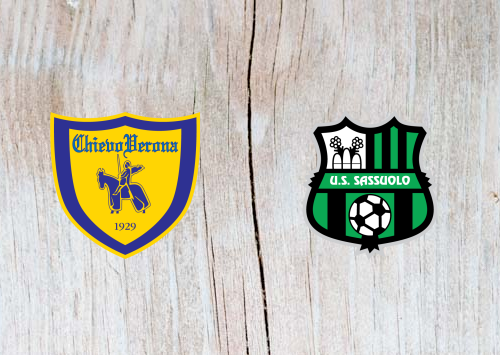Chievo vs Sassuolo - Highlights 04 November 2018