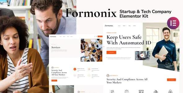 Best Startup & Tech Company Elementor Template Kit