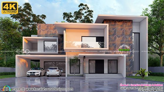 Awesome looking box model contemporary house plan