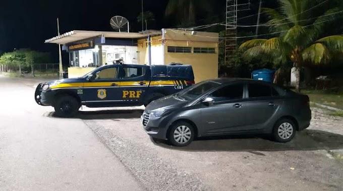 Cristinápolis: PRF recupera na BR 101 veículo roubado em 2018