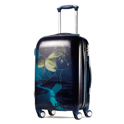 American Tourister Tinkerbell Hardside Spinner Luggage, Holiday Gift Guide for Disney Moms