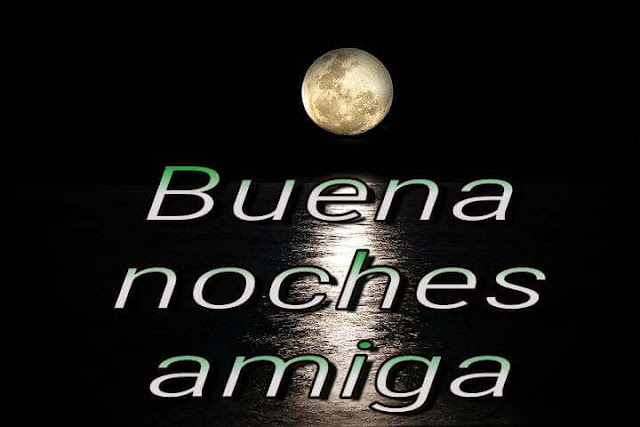 Good night in Spanish photos