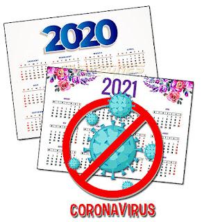 Calendarios coronavirus covid