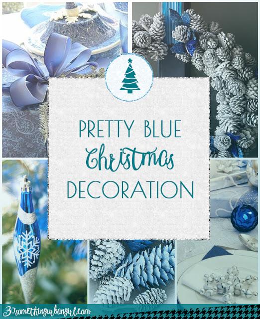 Lovely blue Christmas decoration ideas