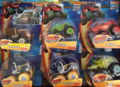 Blaze Die-Cast Vehicles
