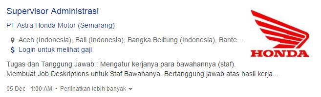 Lowongan Kerja Kabupaten Agam Terbaru 2019