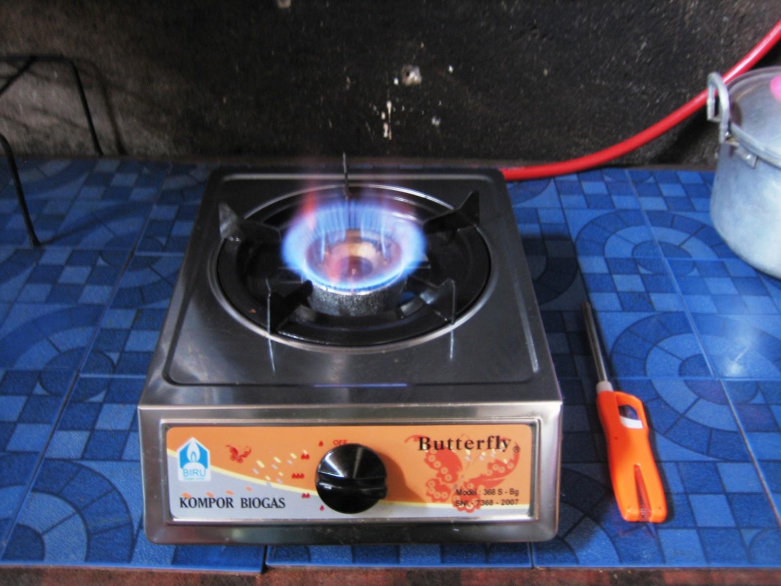 Lampu Biogas Warna Yang Dihasilkan Api