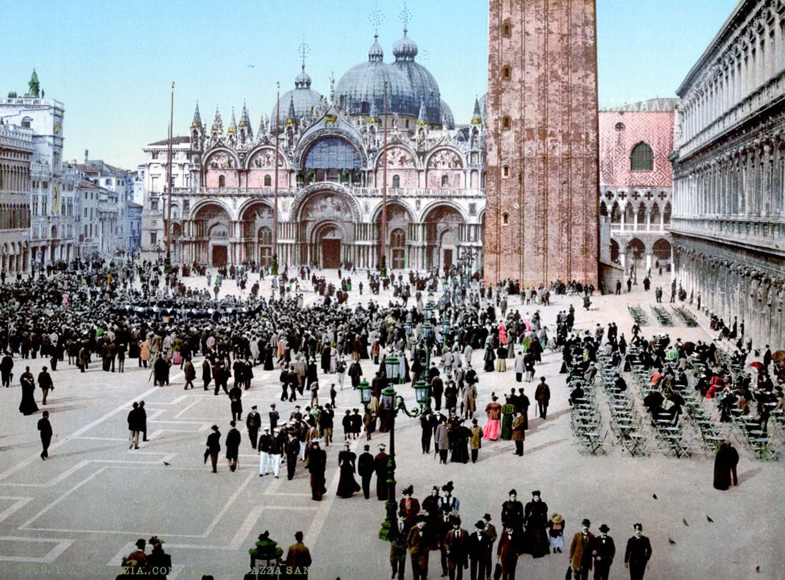 A concert in St. Mark's Square.