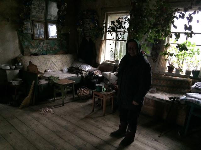 Rücksiedlerin Vera. Belarus Weissrussland
