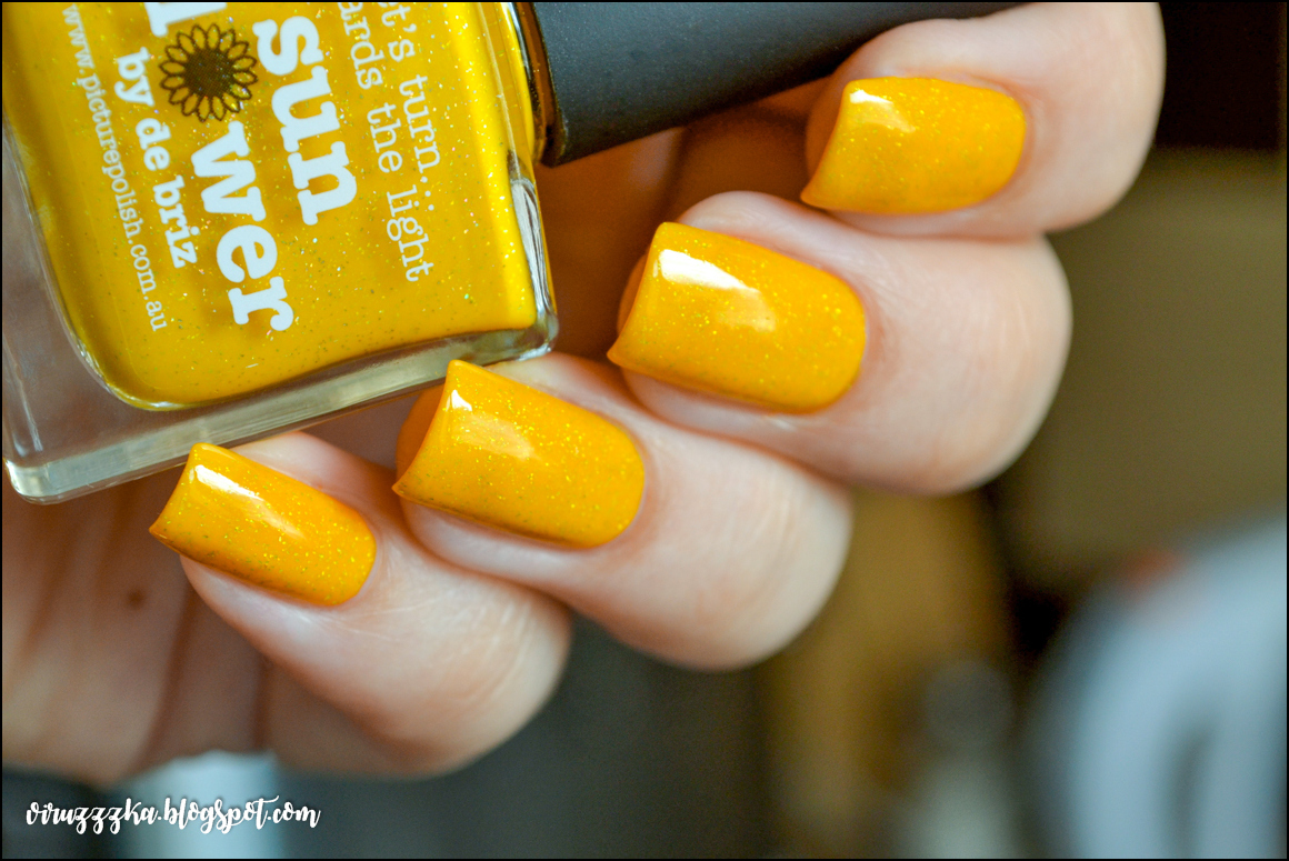 piCture pOlish Sunflower | Review & Swatches