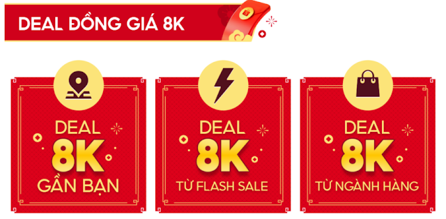 Deal 8k shopee
