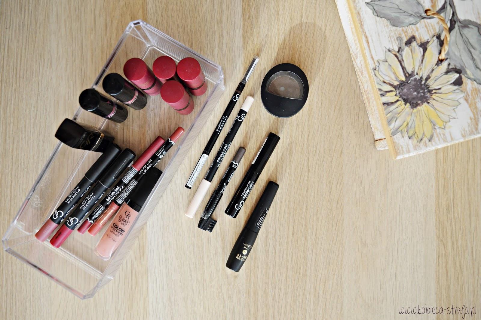 Produkty warte uwagi: Golden Rose makijaż ust i oczu