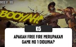 Apakah Free Fire Merupakan Game No 1 Didunia? Atau Hanya...
