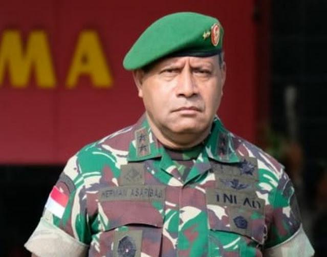 Hadi Tjahjanto Resmi Tunjuk Herman Asaribab Sebagai Wakil Kepala Staff TNI AD