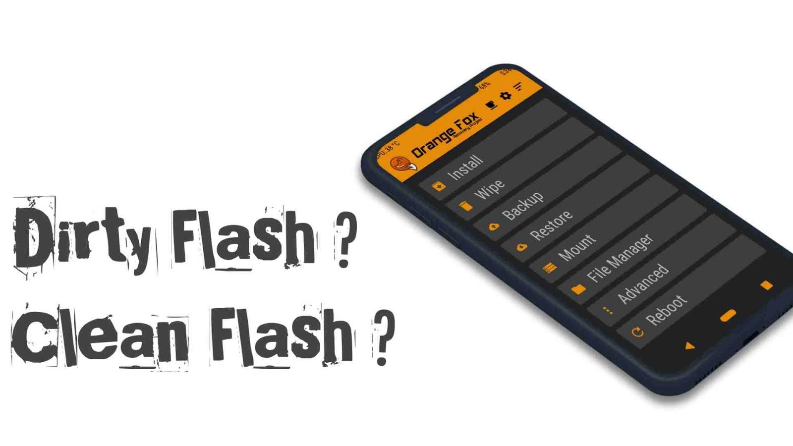 Pengertian dirty flash