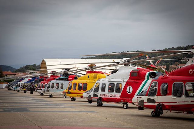 Leonardo delivers 1000 AW139 helicopter