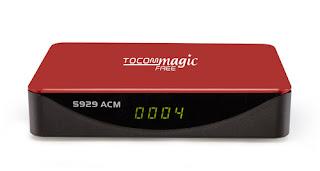 ATUALIZAÇÃO TOCOMFREE MAGIC S929 ACM  V 1.31 - 16/11/2017