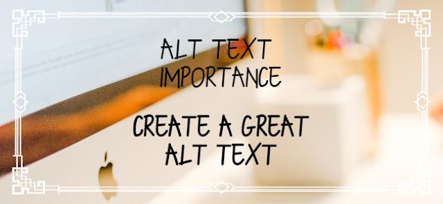 Image Alt text Importance