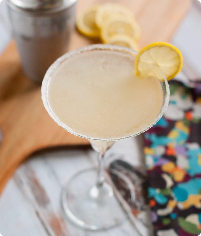 cupcake lemon drop cocktail