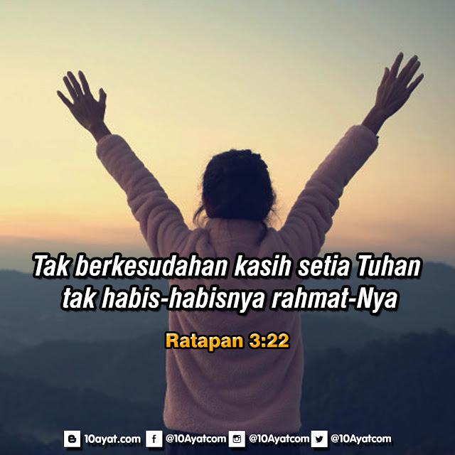 Ratapan 3:22